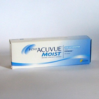 1•DAY ACUVUE Moist for Astigmatism - 5 Testlinsen