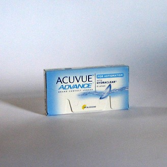 Acuvue Advance for Astigmatism - 1 Testlinse