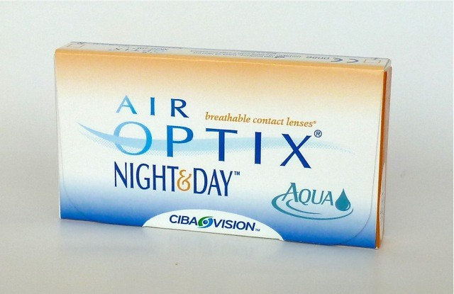 Ciba Vision Air Optix Night & Day AQUA  -  3er Box