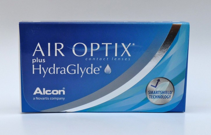 Alcon AIR OPTIX plus HydraGlyde 3er Pack