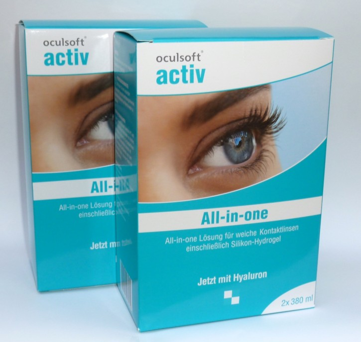 oculsoft® activ all-in-one 4x380ml