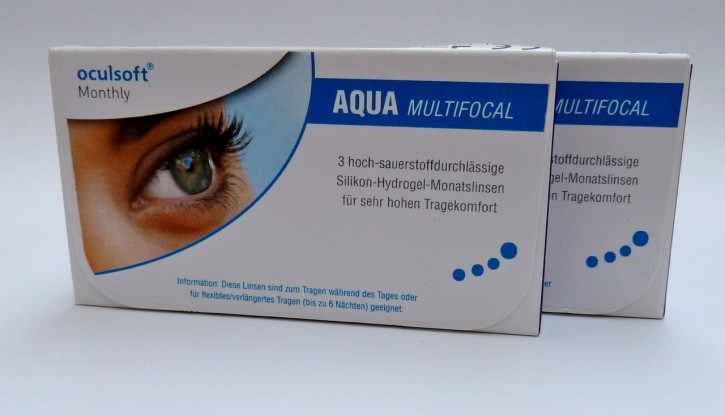 oculsoft Monthly AQUA MULTIFOCAL - 6er Box