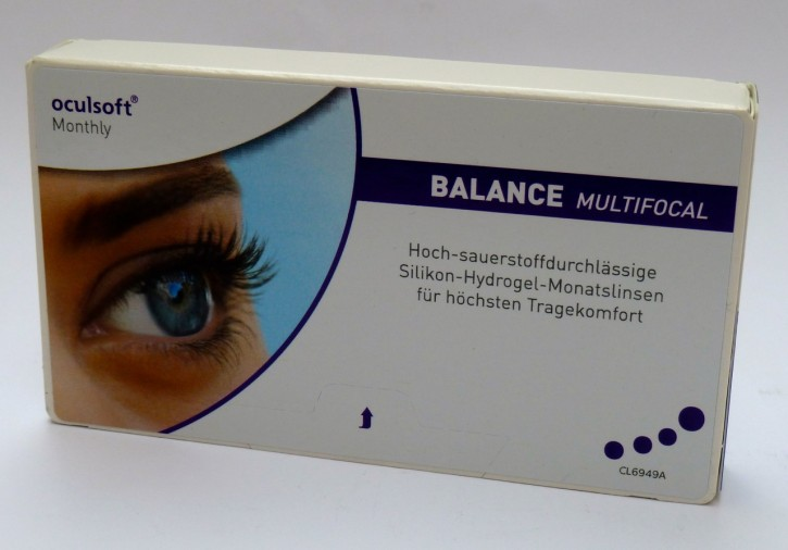 oculsoft Monthly BALANCE MULTIFOCAL - 3er Box