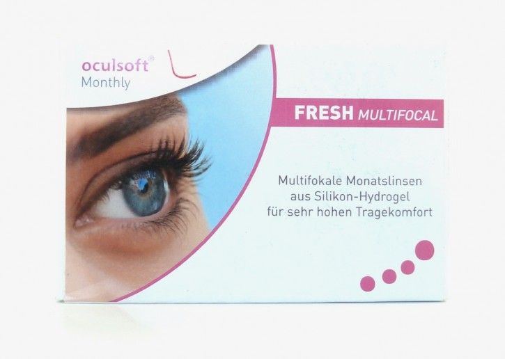 oculsoft Monthly FRESH MULTIFOCAL - 3er Box