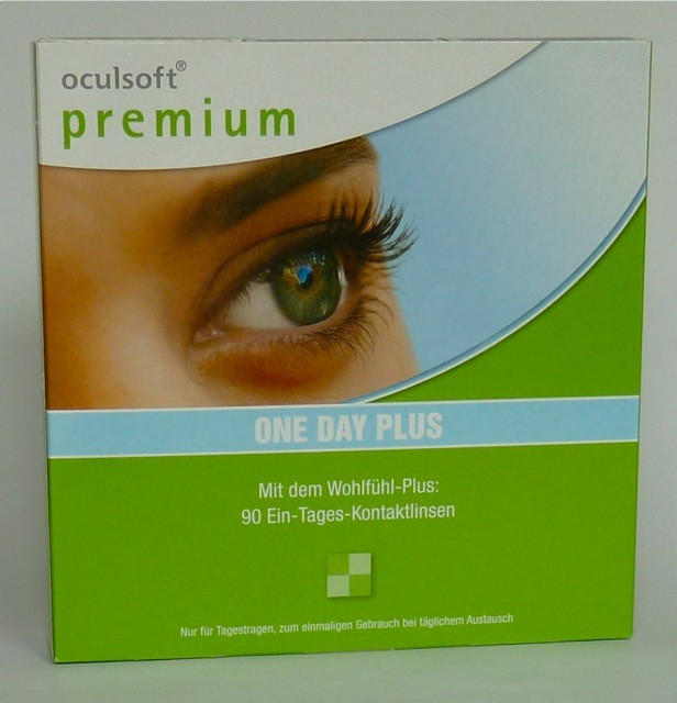 Oculsoft Premium One Day Plus, Ciba Vision - 90er Box