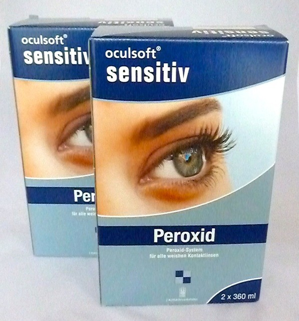 oculsoft® sensitiv Peroxid 4x360ml