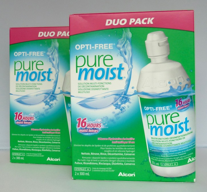 Alcon OPTI-FREE PureMoist 4x300ml