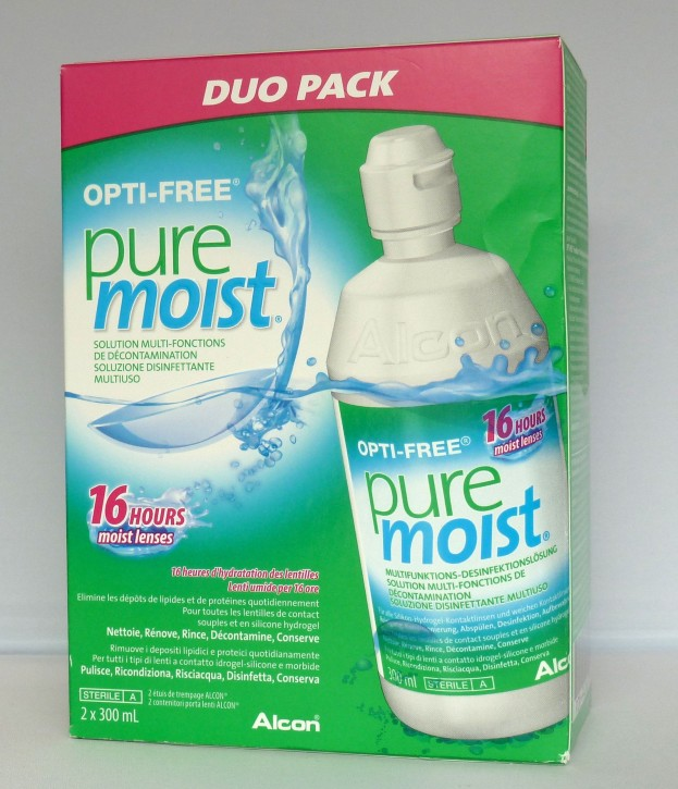 Alcon OPTI-FREE PureMoist 2x300ml