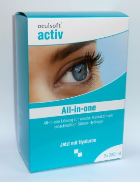 oculsoft® activ all-in-one 2x380ml