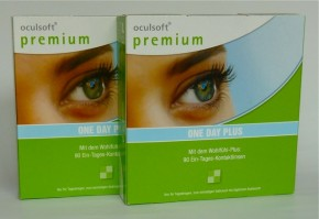 Oculsoft Premium One Day Plus , Ciba Vision- 2 x 90er Box
