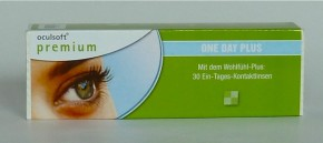Oculsoft Premium One Day Plus, Ciba Vision - 30er Box