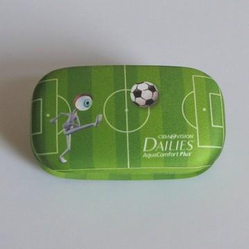 Kontaktlinsen Schmuck Etui Fußball