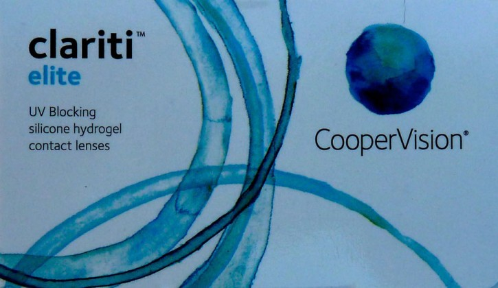cooper vision clariti elite 6er box kontaktlinsen spezial versand. Black Bedroom Furniture Sets. Home Design Ideas