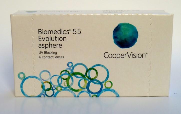 CooperVision BioMedics 55 Evolution - 6er Box