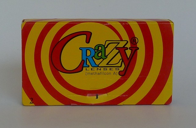 CL tinters Crazy Lenses - 2er Box mit Prismenballast