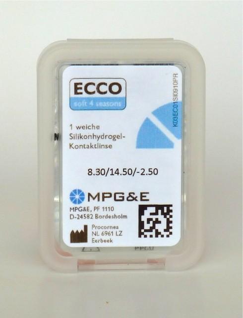 MPGE ECCO soft 4 seasons T bis 6dpt Zylinder! - 1Linse