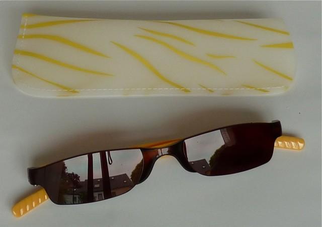 Fertiglesebrille mit Sonnenschutzgläsern