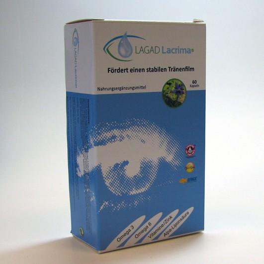 LAGAD Lacrima®  60 Kapseln