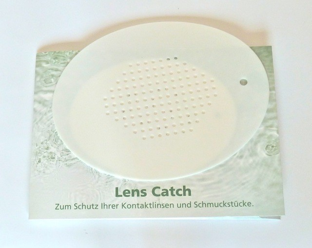Lens Catch Gummimatte