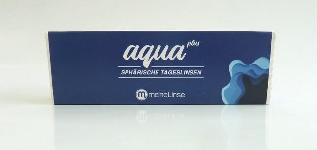 meineLinse aqua plus sphärische Tageslinsen - 30er Box