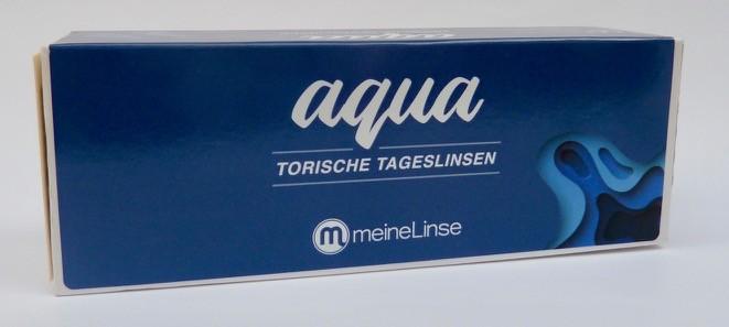 meineLinse aqua torische Tageslinsen - 30er Box