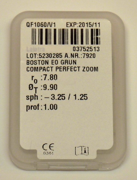 MPGE compact perfect zoom - 1Linse