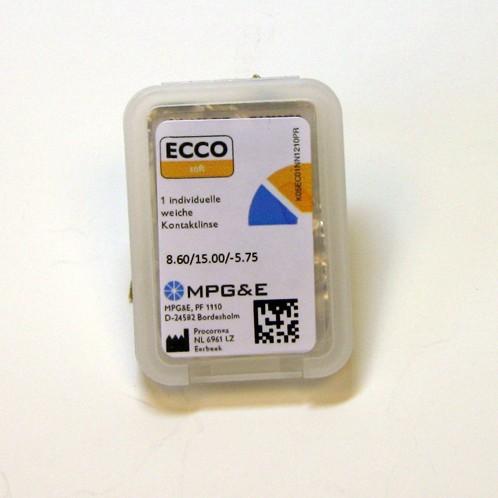 MPGE ECCO soft 58 T (Toric)  - 1Linse