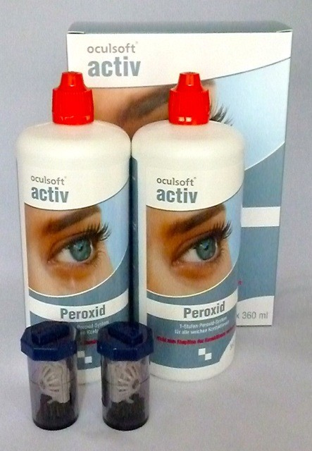 oculsoft® activ Peroxid 2 x 360ml