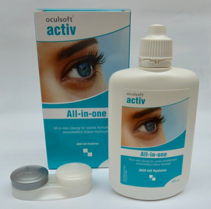 oculsoft activ all in one 100ml