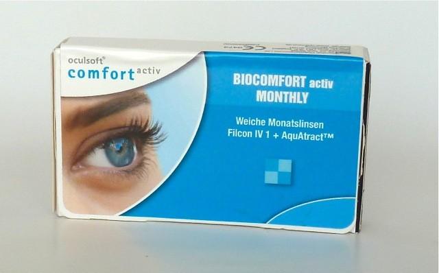 oculsoft comfort BIOCOMFORT ACTIV TORIC - 3er Box
