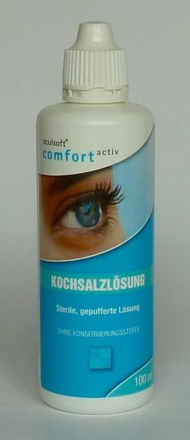 oculsoft® comfort activ Kochsalzlösung 100ml
