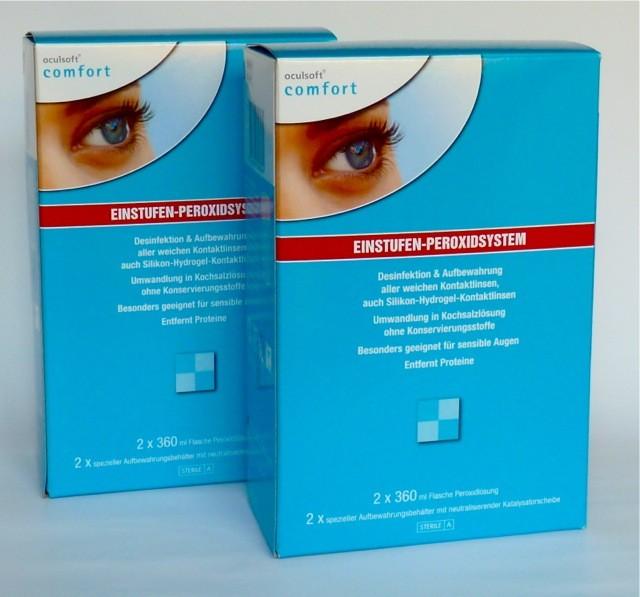oculsoft® comfort EINSTUFEN-PEROXIDSYSTEM 4 x 360ml