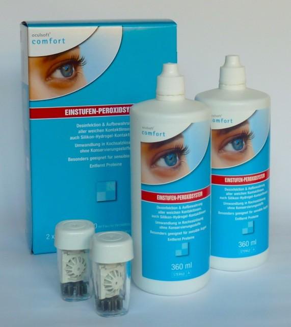 oculsoft® comfort EINSTUFEN-PEROXIDSYSTEM 2 x 360ml