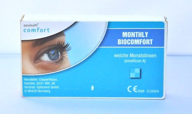 oculsoft comfort MONTHLY BIOCOMFORT - 6er Box