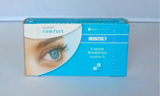 oculsoft comfort MONTHLY  - 6er Box