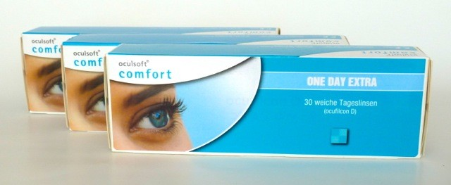 oculsoft comfort ONE DAY EXTRA, Cooper Vision - 3 x 30er Box