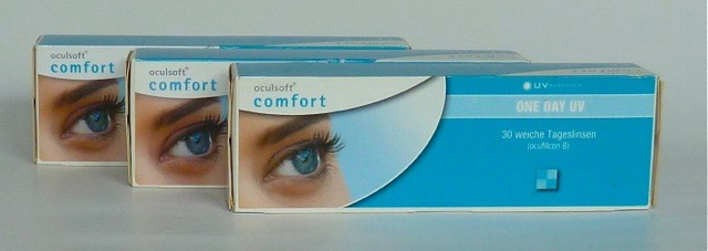 Oculsoft Comfort One Day Toric - 3 x 30er Box