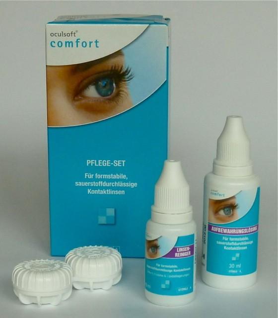 Oculsoft® comfort PFLEGE-SET für formstabile Kontaktlinsen 10ml + 30ml