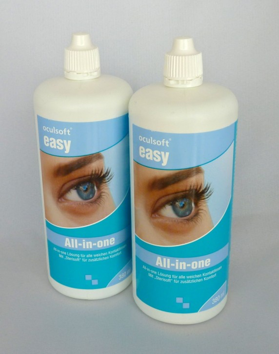 oculsoft® easy All-in-one 2x380ml