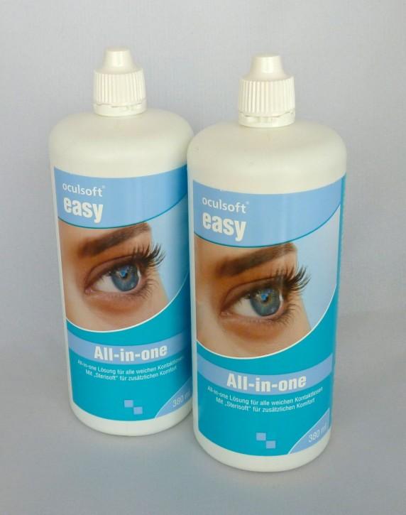 oculsoft® easy All-in-one 2x380ml