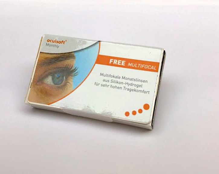 oculsoft Monthly FREE MULTIFOCAL - 3er Box