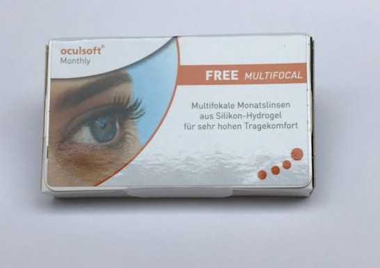 oculsoft Monthly FREE MULTIFOCAL - 6er Box