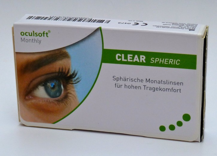 oculsoft Monthly CLEAR TORIC - 3er Box