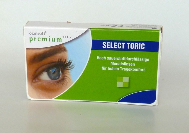 oculsoft premium activ SELECT Toric - 6er Box
