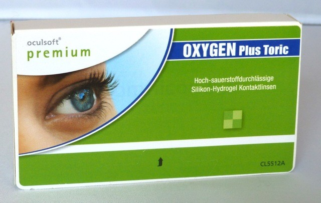 oculsoft premium OXYGEN Plus Toric - 3er Box