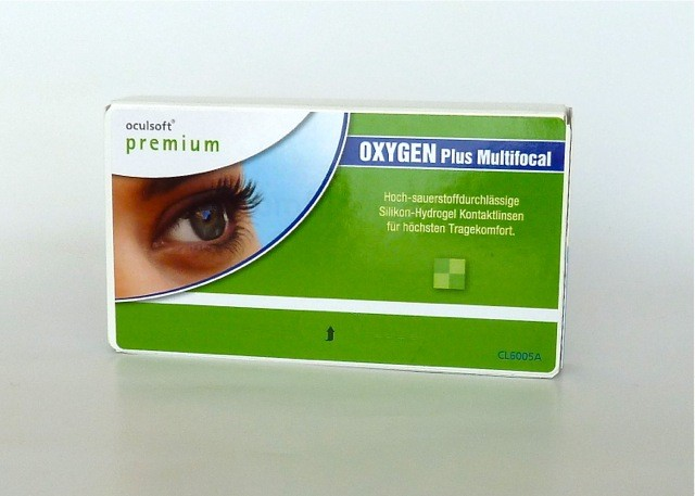 oculsoft premium OXYGEN Plus Multifocal - 3er Box