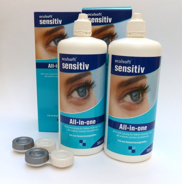 oculsoft sensitiv All-in-one  2x380ml