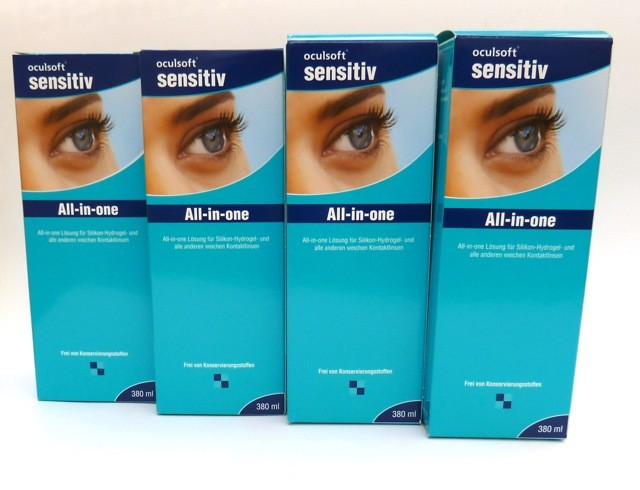 oculsoft sensitiv All-in-one 4x380ml