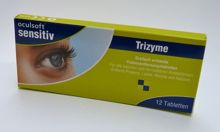 oculsoft® sensitive Trizyme Proteinentfernungstabletten 12 Tabl.