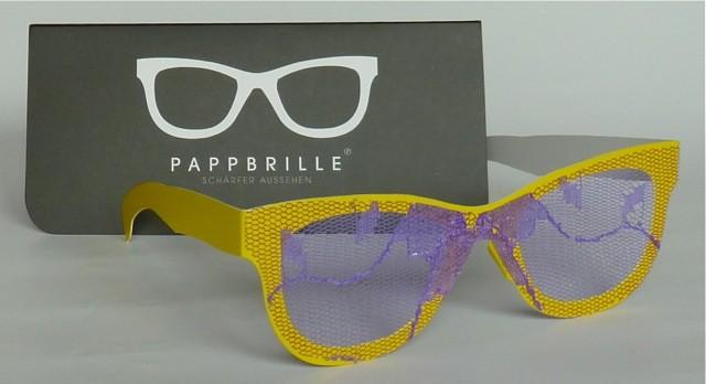 Pappbrille Streber Garten